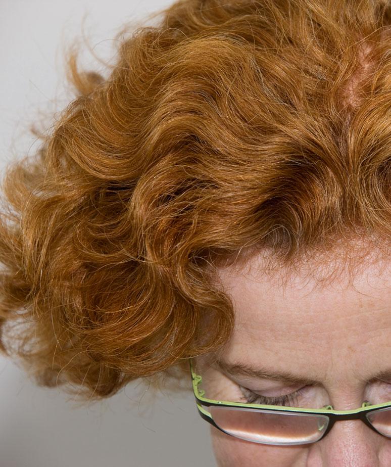 Haare mit henna kupfer farben