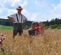 Landwirtschaft Generationen, Fam. Lautenschlager_(c)Lammsbraeu