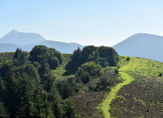 puy de Dôme, puy de Côme, Chaîne des puys, Auvergne, France