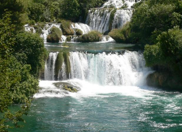 39W01-1Wasserfall-Krka-Kroatien-2