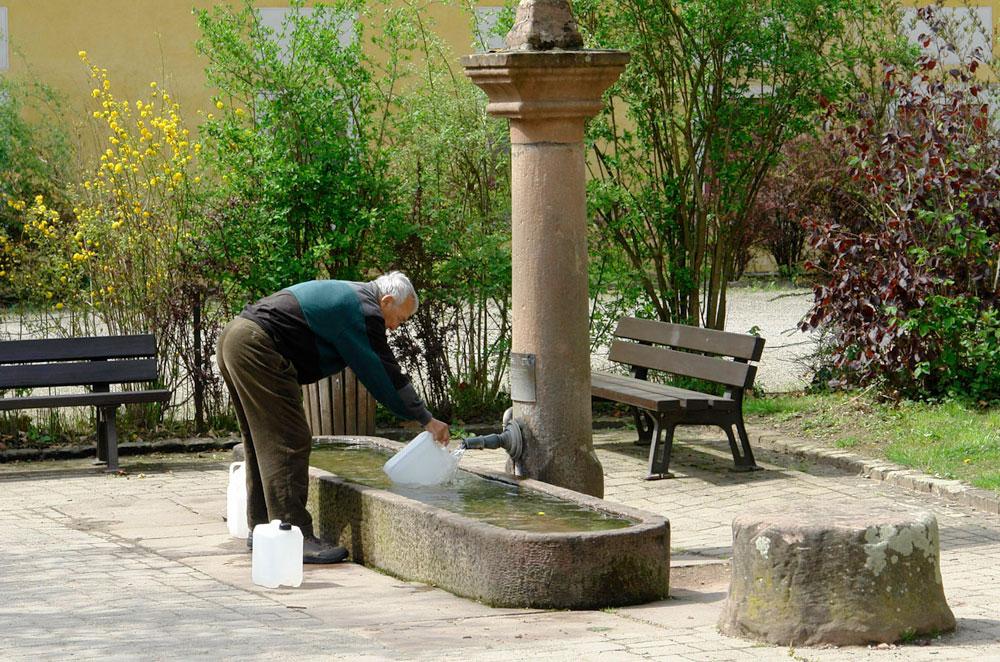 Landelinuswasser: Für Christen und Andersgläubige