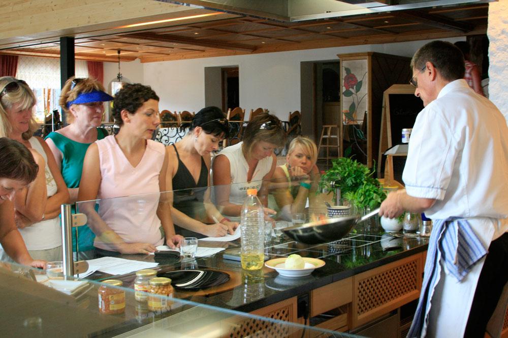 Schlank kochen im Balance-Resort