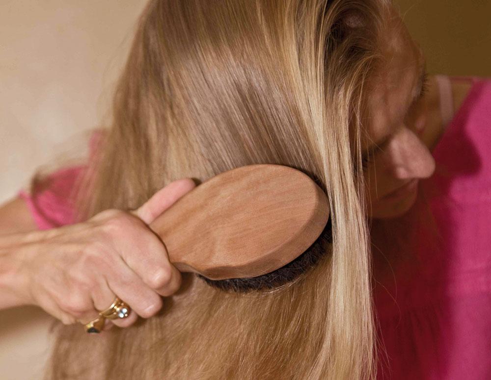 Problemlöser Haarbürste