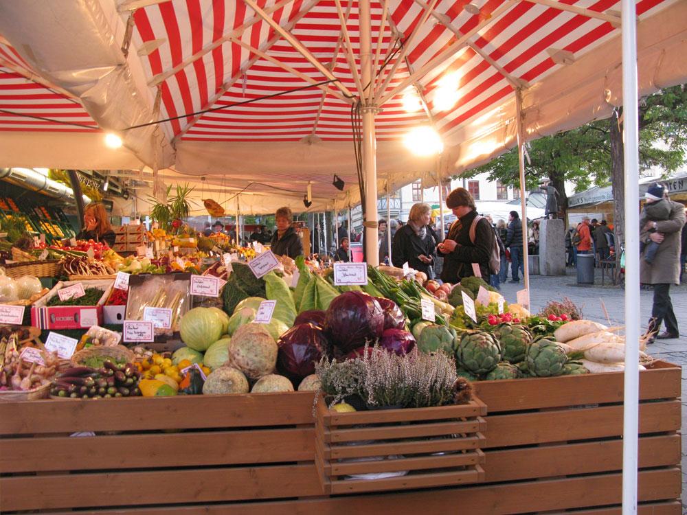 Regional einkaufen in Frankfurt