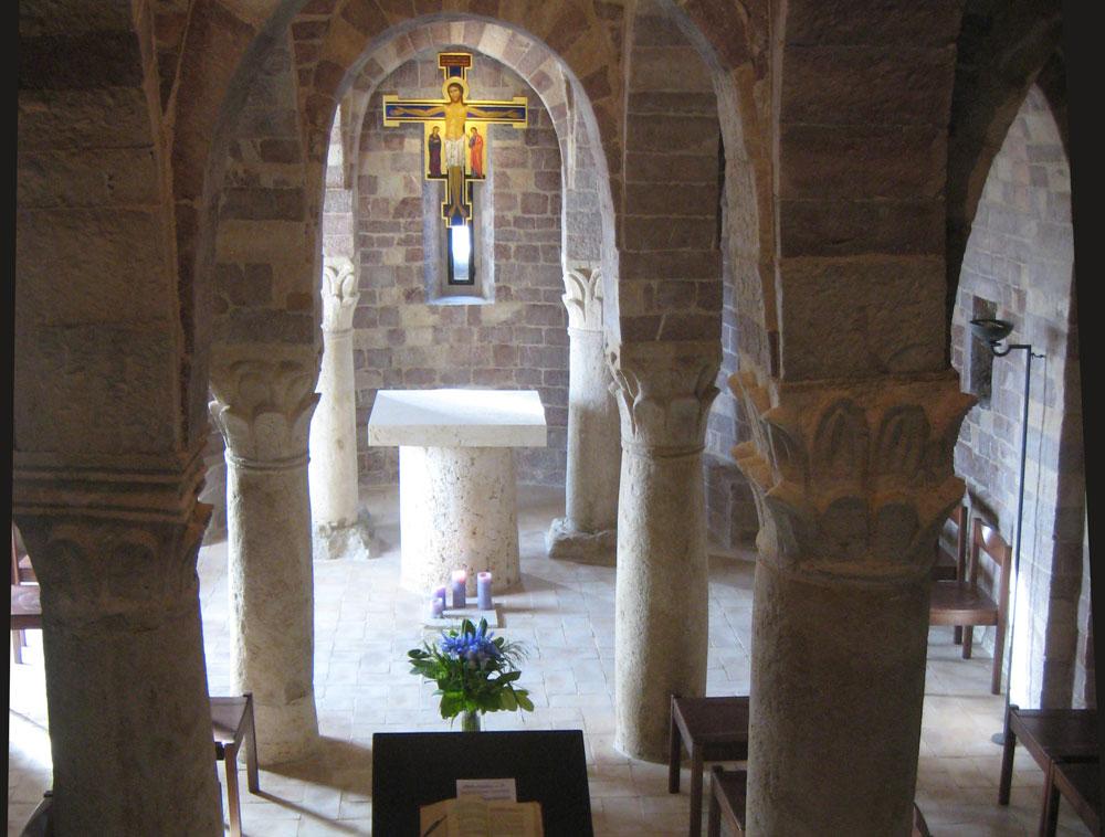 San Masseo/Assisi: Sich selbst und zum Nächsten finden