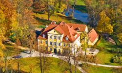Polen: Schloss Lomnitz