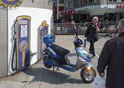 Elektromobil: Drei verschiedene Steckdosen