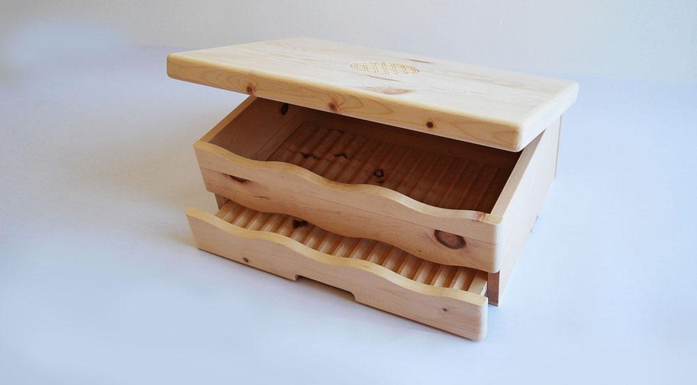 Brotbox: Mottenvertreibend