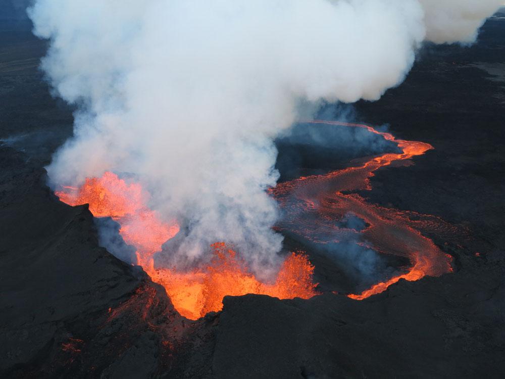 Vulkan Bárðarbunga wieder aktiv
