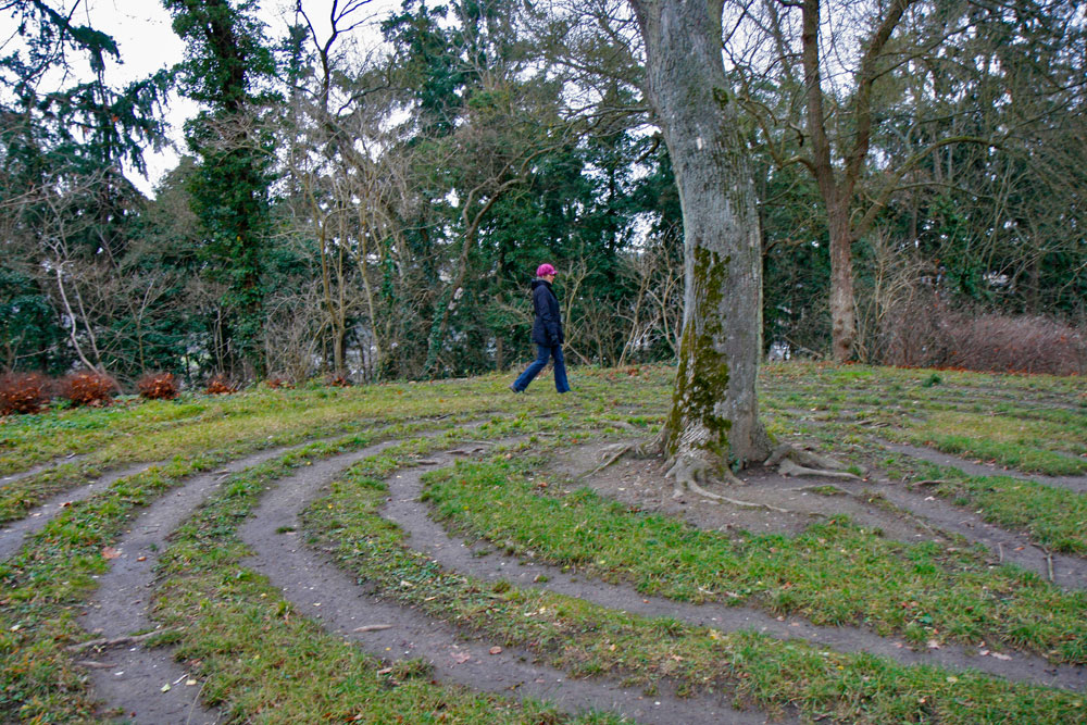 Kraftort: Das Labyrinth am Disibodenberg