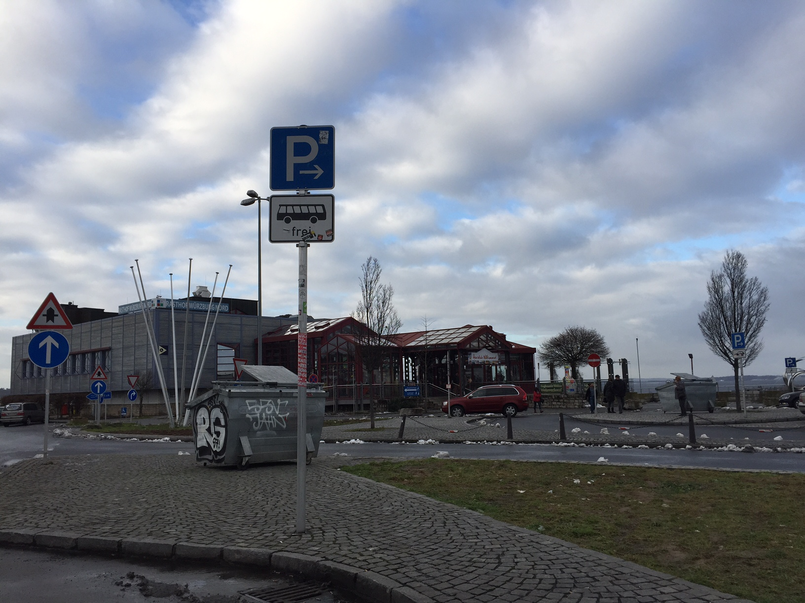 Kraftort Autobahnraststätte