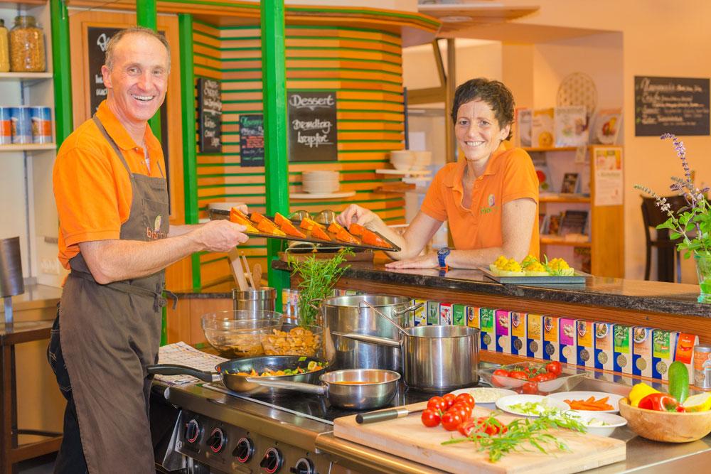 Kochkurse: Voller Schwung und Energie
