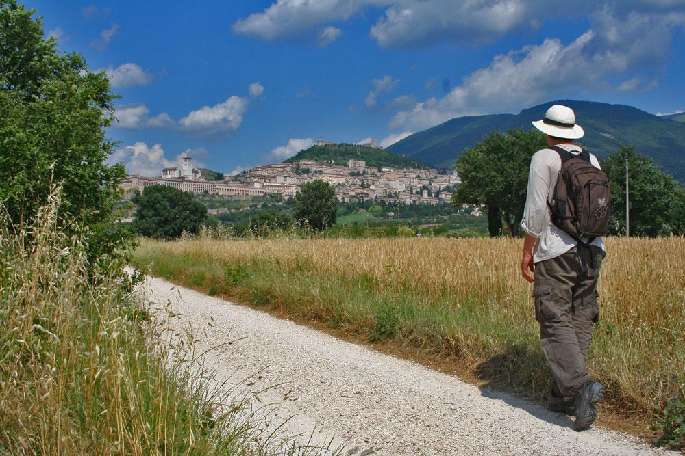 Besinnlich: Pilgern auf den Spuren des heiligen Franziskus von Assisi