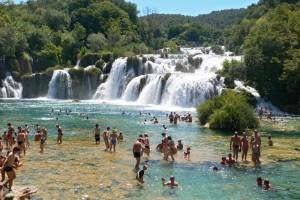 39W01-6Wasserfall-Krka-Kroatien-2