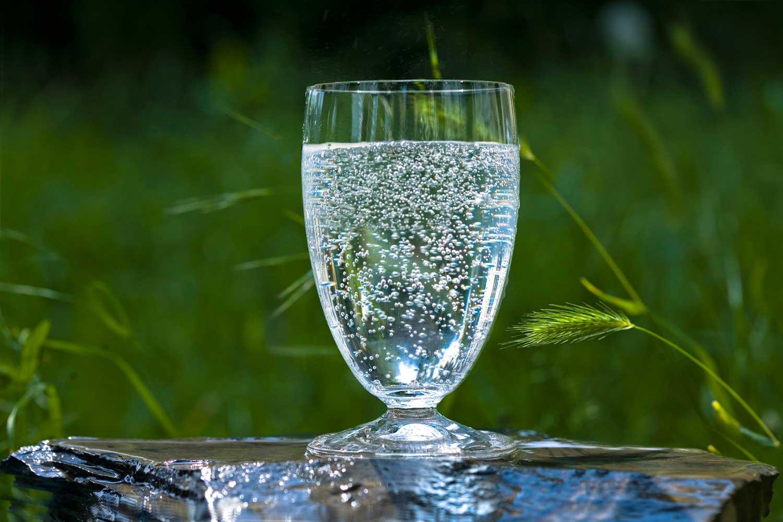 Schönheitspflege mit Mineralwasser