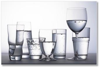 Mineralwasser-Geschmack: Auch auf das Glas kommt es an