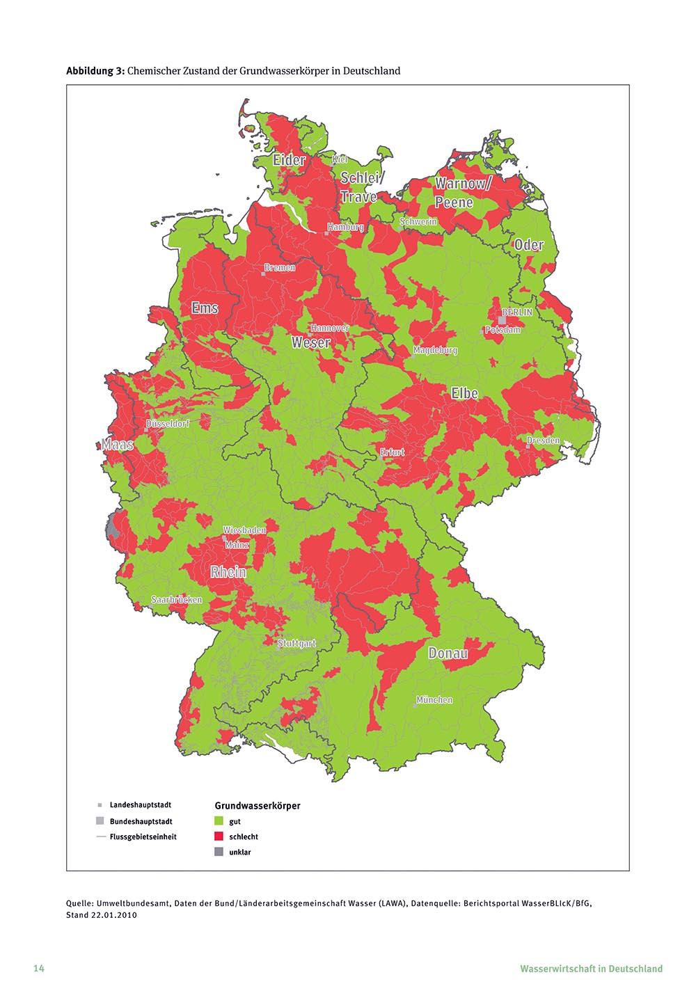 Nitrat – Gefahr fürs Trinkwasser