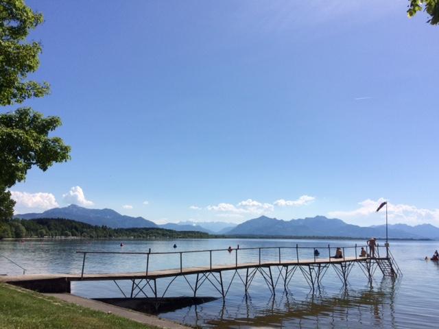 Die Entdeckung der Langsamkeit: Die Badeanstalt in Chieming