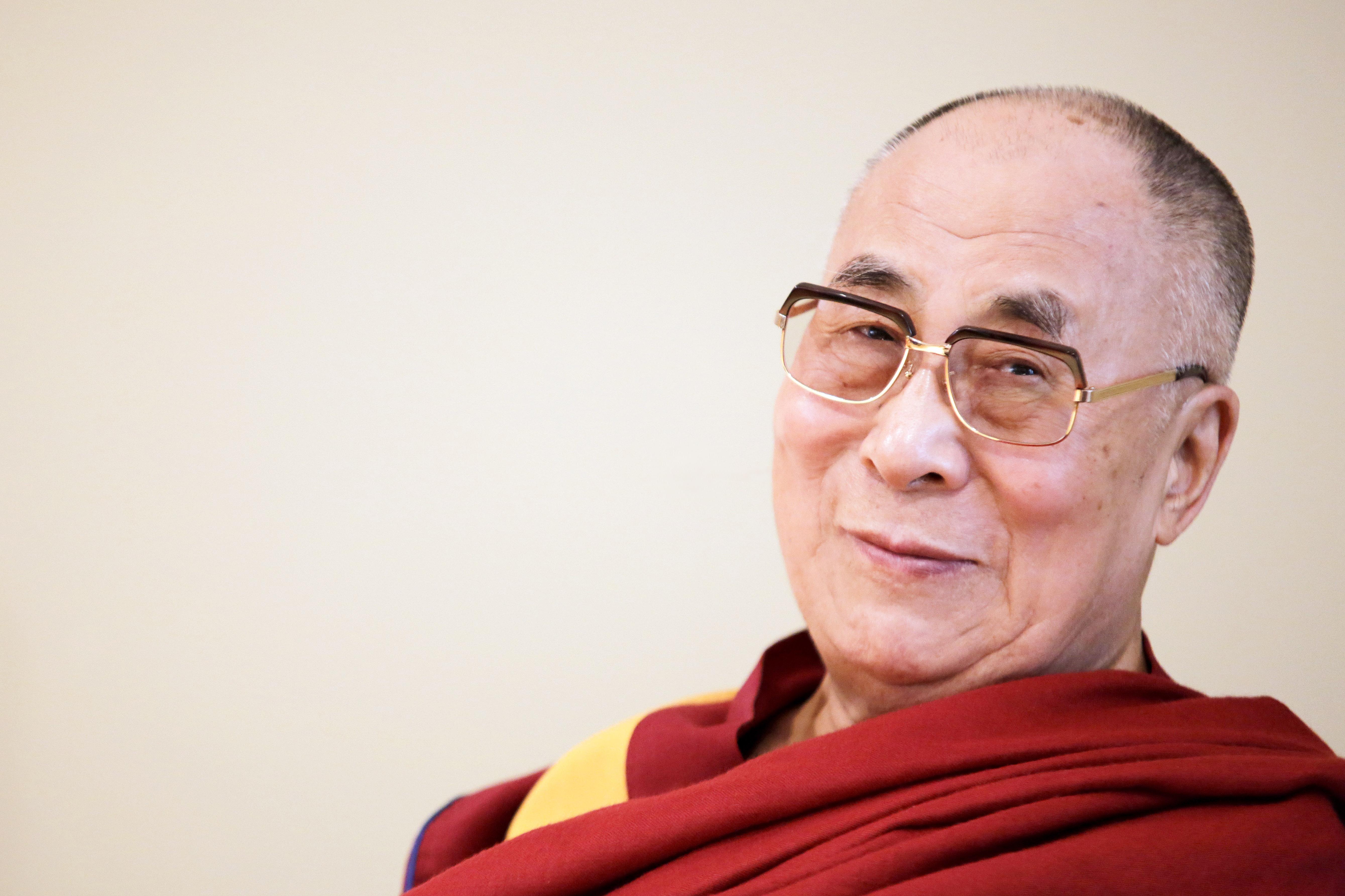Der Dalai Lama in Frankfurt
