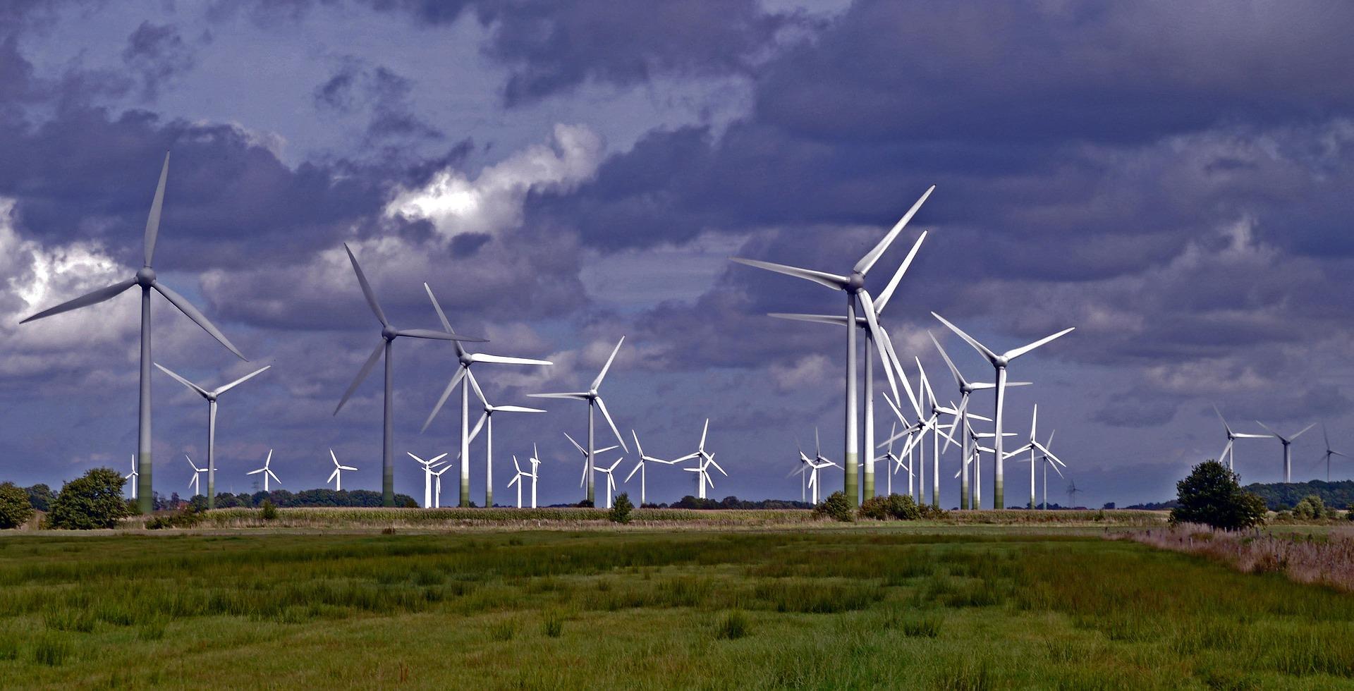 Die Energie des Windes