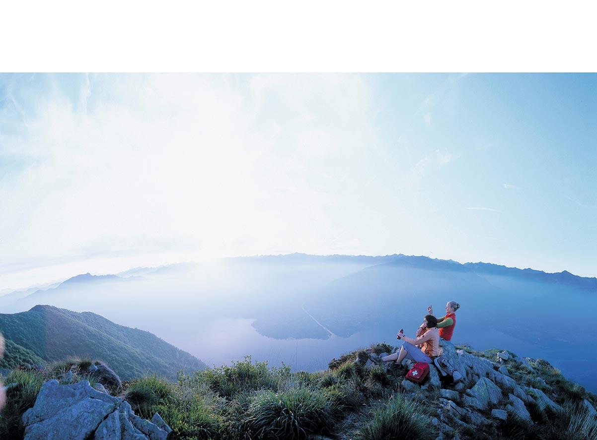 Lichtbad am Monte Verita
