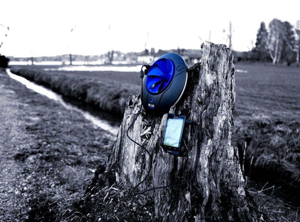 Wasserkraft für den Rucksack