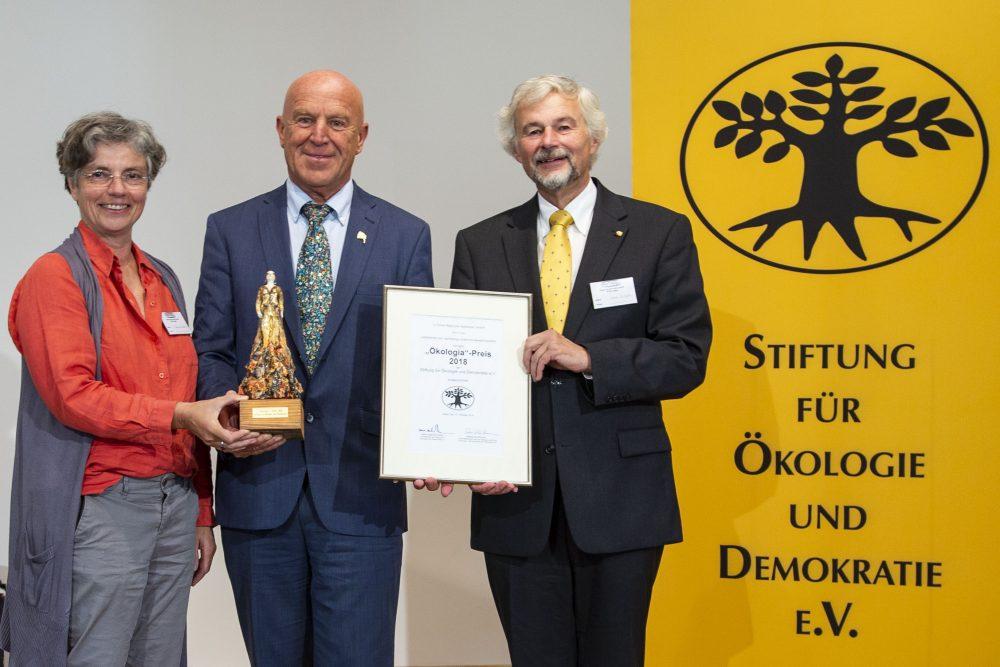 Rapunzel Naturkost erhält Ökologia-Preis 2018