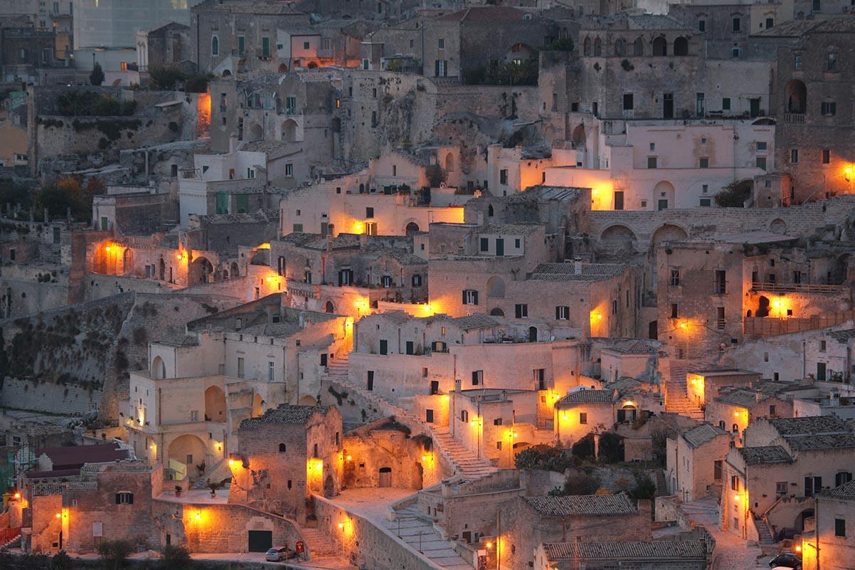 Städte von ihrer anderen Seite: Junges Matera