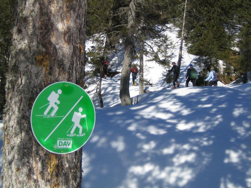 Natürlich auf Tour – beim Tourengehen und Schneeschuhwandern