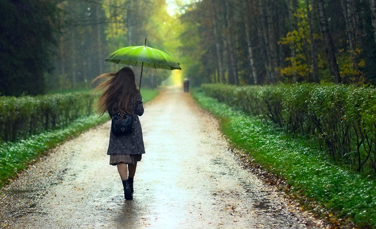 Die Qualität von Regen