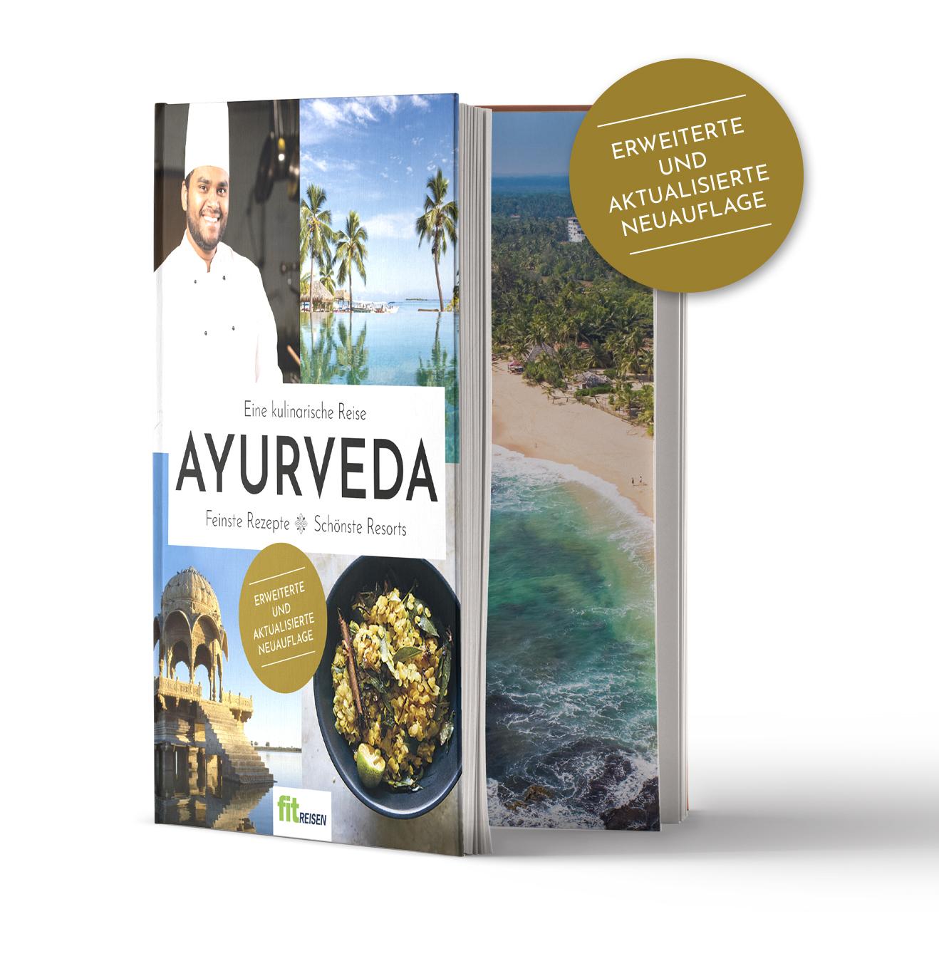 """Kochbücher """"Ayurveda – eine kulinarische Reise"""" zu gewinnen"""