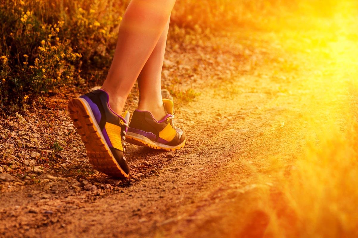 Gesunder Fuß sicherer Gang