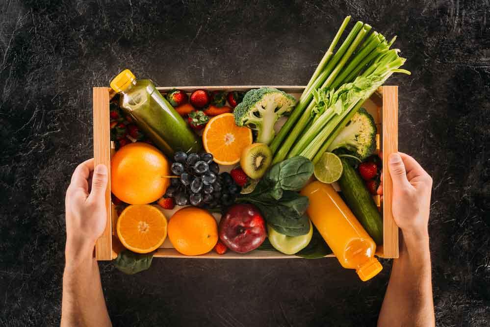 Bio-Lebensmittel frei Haus