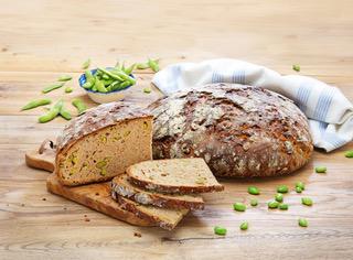 Neue Natursauerteig-Brot-Kreation: Pfister Öko-Edamame-Sonne