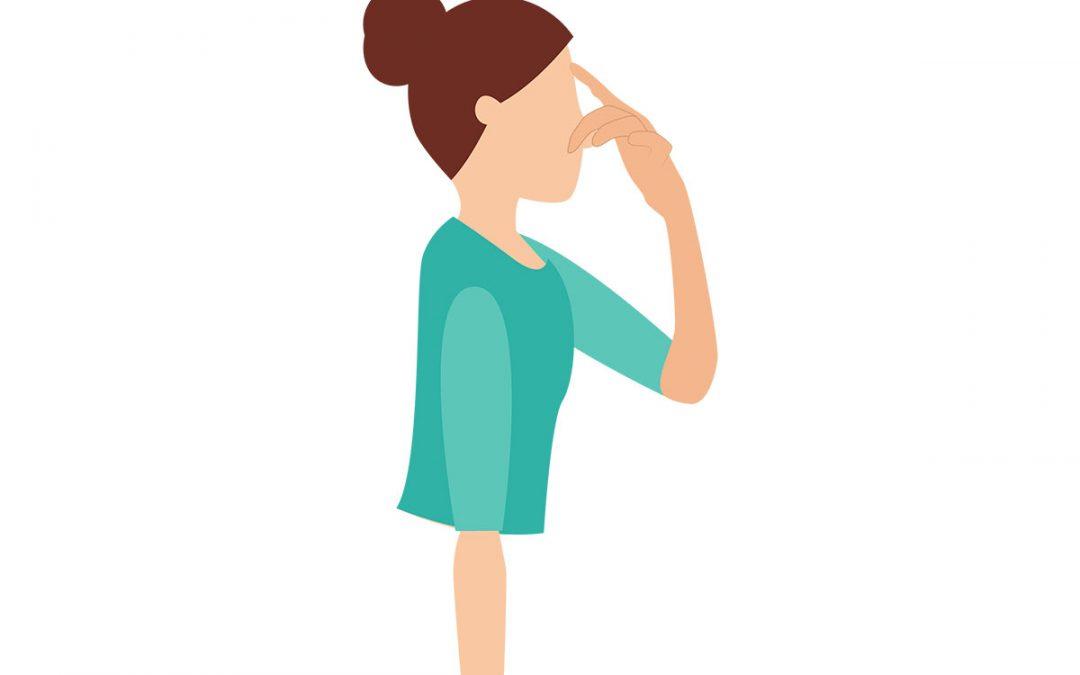 Yoga-Übung – Wechselseitige Nasenatmung