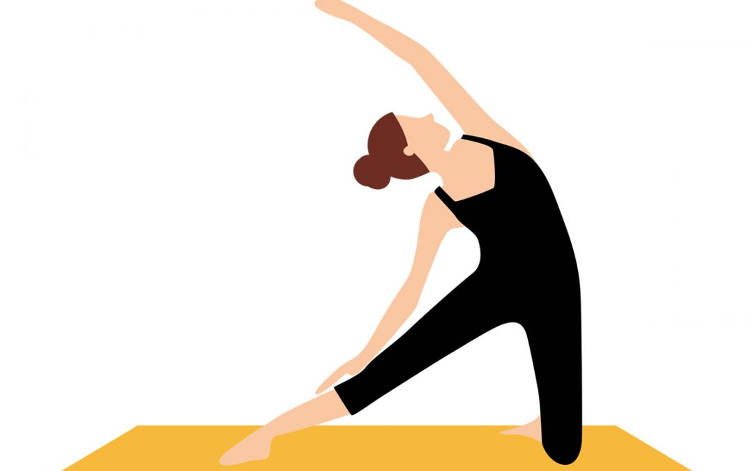 Yoga-Übung – Das Tor
