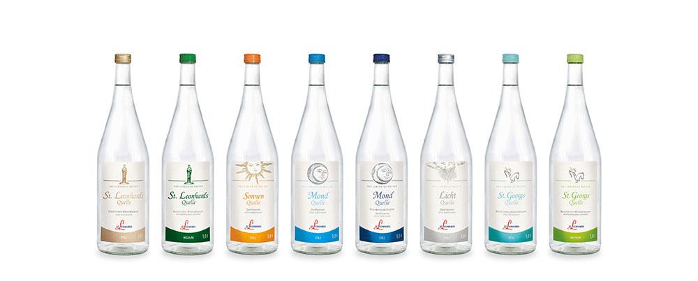 Wasser liebt Glas