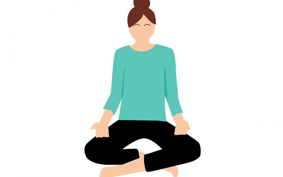 Yoga-Übung – Dankbarkeit